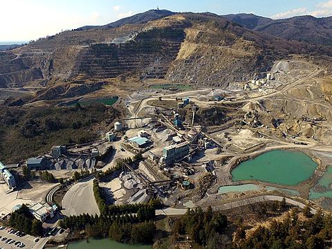 砕石工場全景